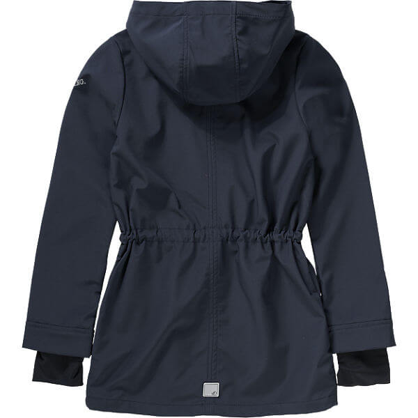 Softshell Coat for Girls Personalized Fashion Clothing for Children back