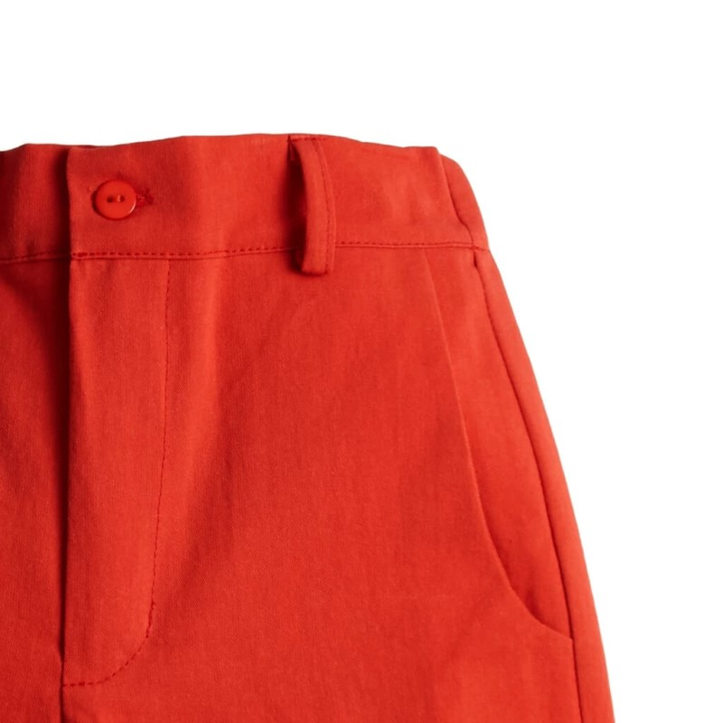 Toddler Boys Flat Front Shorts Red Wholesale details